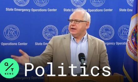 Walz Says He Told Trump Military Force on the Ground Is Unsustainable