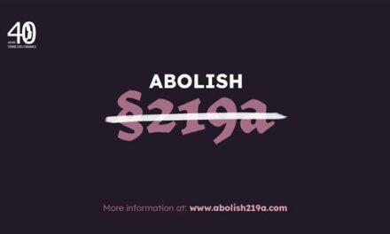 """TERRE DES FEMMES launches the campaign """"Abolish Paragraph 219a"""""""