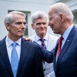 Infrastructure Deal Is Back on Track After Biden's Assurances