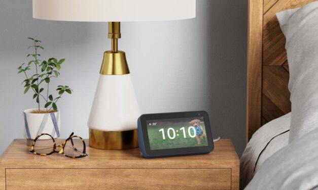 The Echo Show 5 is the perfect addition to your nightstand