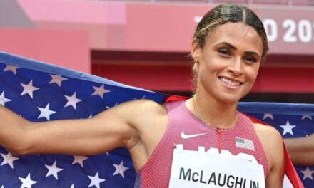 Tokyo Olympics: Sydney McLaughlin smashes her 400m hurdles world record