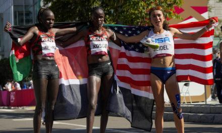 U.S. Runner Molly Seidel Wins Olympic Bronze In Her Third Ever Marathon